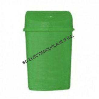 Cos gunoi 55 litri - Verde